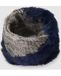 Gloria Ortiz - Fur Two-toned Natural Fur Cowl - Lyst