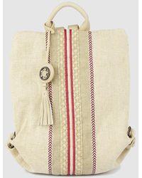 1478a86c1 Vans Realm Backpack Men's Backpack In Beige in Natural - Lyst