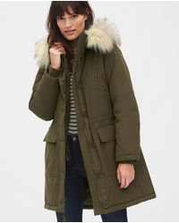 Gap Coldcontrol Parka Jacket - Green