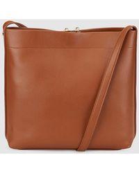 Gloria Ortiz - Elsa Brown Messenger Bag With An Adjustable Strap - Lyst