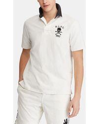 Polo Ralph Lauren - White Short Sleeved Regular-fit Polo Shirt - Lyst