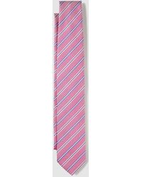 Mirto - Pink Silk Tie With Contrasting Stripes - Lyst