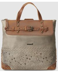 Pepe Moll - Taupe Convertible Tote Bag/backpack - Lyst