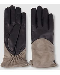 Gloria Ortiz - Two-toned Leather Gloves - Lyst