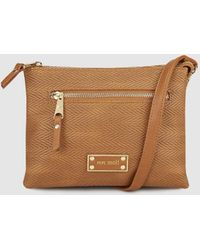 Pepe Moll - Wo Brown Messenger Bag With Zip - Lyst