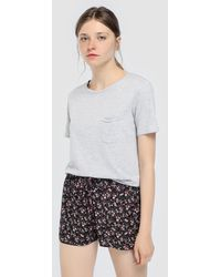 Green Coast - Flower Printed Loose-fitting Shorts - Lyst