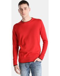 Green Coast - Coral Jumper With A Round Collar - Lyst