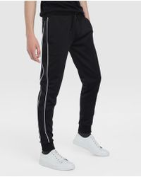Green Coast - Black Tracksuit Bottoms - Lyst
