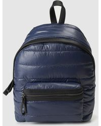 El Corte Inglés - Navy Blue Backpack With Outer Pockets - Lyst