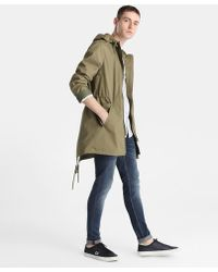 Green Coast - Khaki Hooded Parka - Lyst