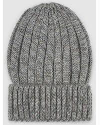 73719b91 El Corte Inglés Wo White Woven Hat in White - Lyst