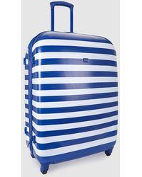 Gloria Ortiz Medium Printed 70l Soft-sided Suitcase - Blue