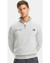 7caac43c BOSS Cotton Sweater: 'gair' From The Mercedes-benz Collection in ...