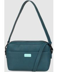 Jo & Mr. Joe | Motocade Green Crossbody Bag With Zip | Lyst