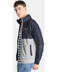 Green Coast - Blue And Grey Casual Jacket - Lyst