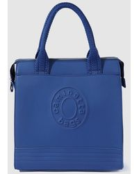 Caminatta - Blue Shopper Bag With Zip - Lyst
