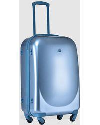 Gloria Ortiz Medium Blue 66 L Hard-sided Suitcase