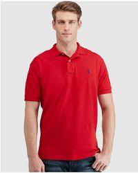 Polo Ralph Lauren - Slim-fit Short Sleeve Polo Shirt - Lyst
