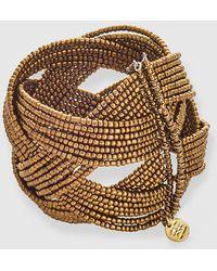Gloria Ortiz - Aged Golden Bracelet - Lyst