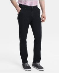 Green Coast - Navy Blue Slim-fit Chinos - Lyst