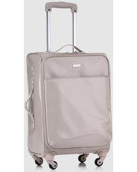 Gloria Ortiz Beige 37 L Soft-sided Cabin luggage - Natural