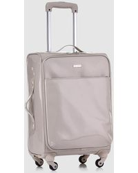 Gloria Ortiz - Beige 37 L Soft-sided Cabin luggage - Lyst