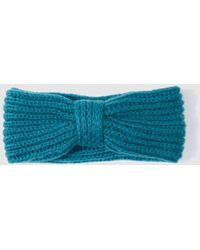 El Corte Inglés - Blue Knitted Hairband - Lyst