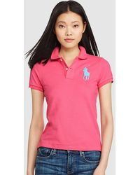 Polo Ralph Lauren - Skinny-fit Big Pony Polo Shirt - Lyst