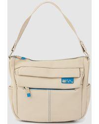304d0f2329 Lyst - Nanette Lepore Taupe Signature Arabella Logo Tote Bag