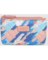 Jo & Mr. Joe - Blue And Pink Printed Double Pencil Case - Lyst