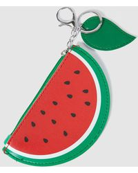 Green Coast - Watermelon Keyring For Bag With Purse - Lyst