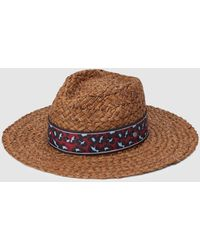 dcb0308ba Brown Straw Fedora With Band