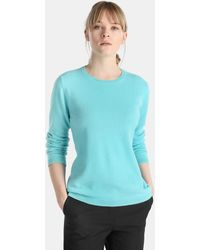 James Perse - Long Sleeve Crew Neck Sweater - Lyst