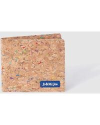 Jo & Mr. Joe - Mens Multicoloured Cork Wallet - Lyst