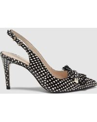 Martinelli - Black Printed Court Shoes - Lyst