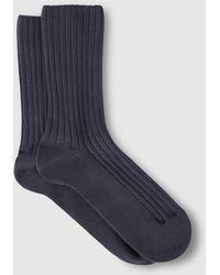 Punto Blanco | Grey Bamboo Socks | Lyst