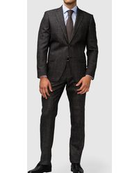 Mirto | Classic Grey Prince Of Wales Check Suit | Lyst
