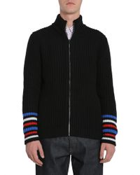 Tommy Hilfiger - High Collar Sweater With Zip - Lyst