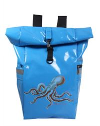 "PS by Paul Smith - ""octopus"" Print Roll-top Backpack - Lyst"