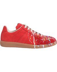 Maison Margiela - Paint Drop Replica Sneakers - Lyst