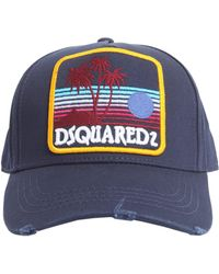 DSquared² - Cotton Baseball Cap - Lyst