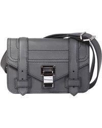 Proenza Schouler - Ps1 Mini Leather Crossbody Bag - Lyst