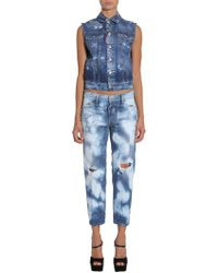 DSquared² - Denim Vest - Lyst