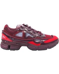adidas By Raf Simons - Ozweego Iii Canvas And Leather Sneakers - Lyst