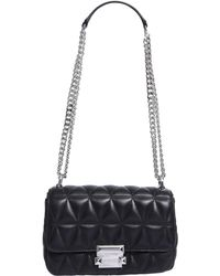 MICHAEL Michael Kors - Messenger Small Sloan Bag In Quilted Leather - Lyst