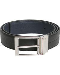 Dior Homme - Cintura In Pelle Con Fibbia - Lyst