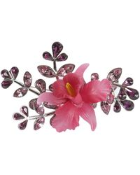 DSquared² - Secret Garden Brooch With Crystals - Lyst