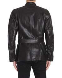 Belstaff - Giacca Panther In Pelle - Lyst