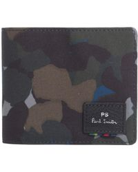 PS by Paul Smith | Camouflage Printed Bifold Wallet | Lyst