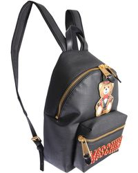 Moschino - Teddy Bear Circus Backpack With Coated Canvas - Lyst